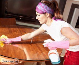 نکات تمیز کردن منزل