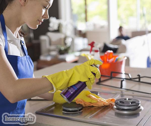 30 نکته ساده و سریع برای تمیز کردن خانه